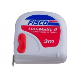 Ролетка за измерване Fisco Uni Matic - 3 метра