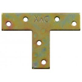 Т-образна плоска метална планка DMX KT 1 - 70 х 50 х 16 мм