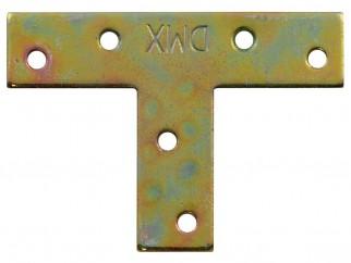 Т-образна плоска метална планка KT - 70 х 50 х 16 мм