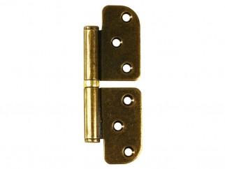 Non-directional Steel Hinge - Bronze