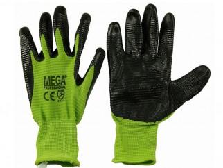 Защитни работни ръкавици топени в нитрил Ultra Green