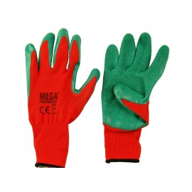 Чифт защитни работни ръкавици топени в латекс Crinkle