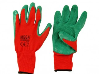 Защитни работни ръкавици топени в латекс Crinkle