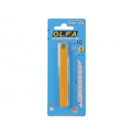 OLFA SAB-10B Spare Blades - 30° Angle, 10 pcs