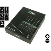 Комплект прецизни мини отвертки Wera Kraftform Micro 2035/6