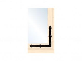 Декоративна Г-образна ъглова планка за дървени врати и прозорци NAD