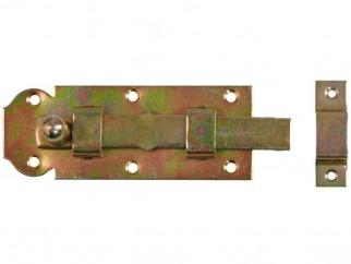 Метално резе с насрещник за дървени порти и капаци W