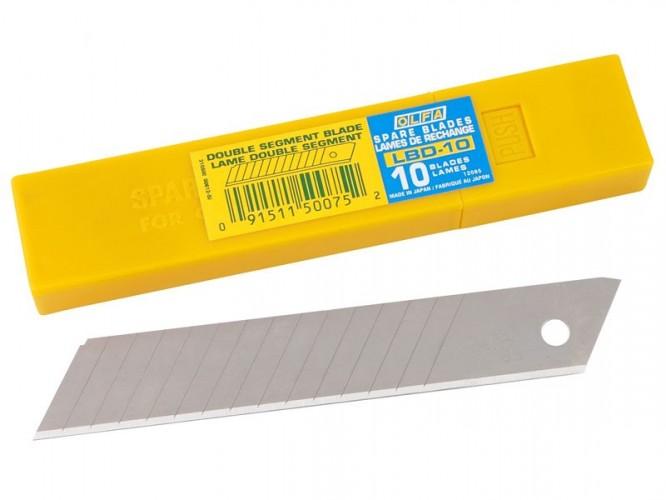 Резци (режещи пластини) за макетни ножове OLFA LBD-10 - 18 мм