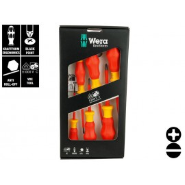 Wera Kraftform Comfort VDE 1160 i/7 Screwdriver Set