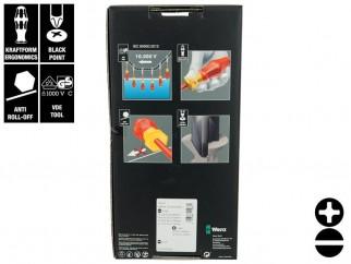 Комплект отвертки Wera Kraftform Comfort VDE 1160 i/7