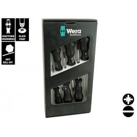 Wera Kraftform Classic 1734/55/6 Screwdriver Set