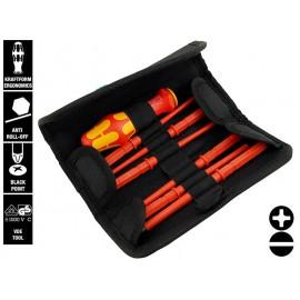 Wera Kraftform Kompakt VDE 60 i/7 Screwdriver Set