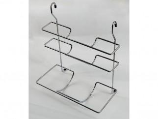 Триетажна кухненска поставка за фолио и хартия за окачване
