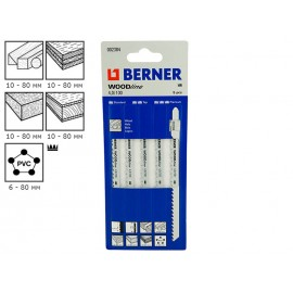 Berner WoodLine 4.0/100 Jigsaw Blades - 2384