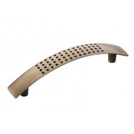 Мебелни дръжки MD-7007 - античен месинг, 96 мм