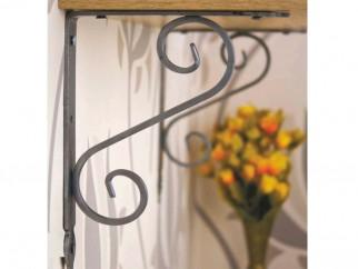 Декоративни ъглови конзоли за дървени рафтове WOZ