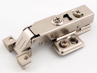 Хидравлична мебелна панта за алуминиеви вратички - Покрит кант