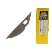 Резервни резци за хоби арт ножове OLFA KB4-R - 5 бр.
