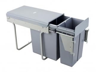 Разделна кухненска кофа за вграждане в шкаф CLG30C