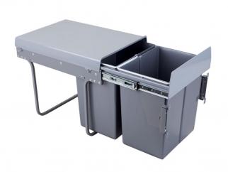 CLG20C Double Waste Bin