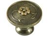 Старинна дръжка за мебели MD-92707 - С един винт, Старо злато