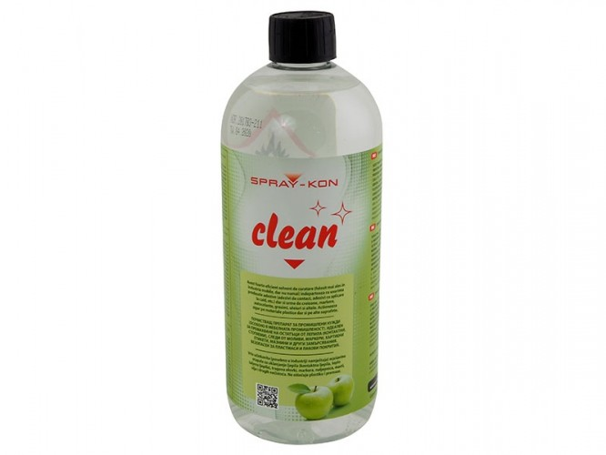 Почистващ препарат за контактни и стопяеми лепила SPRAY-KON Clean