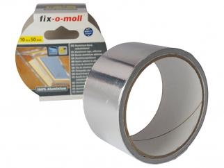 Водоустойчива алуминиева лента за ремонт Fix-o-moll - 10 м х 50 мм