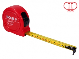 SOLA Compact Short Measurement Tape - 3 m