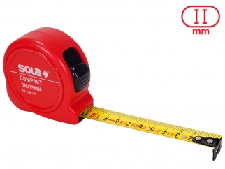 Ролетка за измерване SOLA Compact - 5 метра, Опаковка