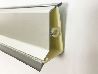 Corners For Convex Skirting - S-Type | Matte Chrome