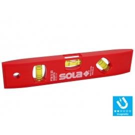 SOLA PTM 5 ABS Plastic Spirit Level With Magnetic Stripe