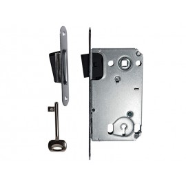 Bonaiti B-TWO 90 x 50 mm Magnetic Lock For Wooden Interior Doors - Standard Key