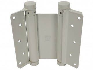 IBFM Double Acting Spring Hinges Set - 150 mm, Powder coated, Up to 40 kg doors