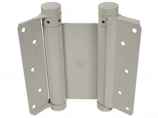Комплект панти с пружина за летяща врата IBFM - 150 мм, Боядисани, До 40 кг врати