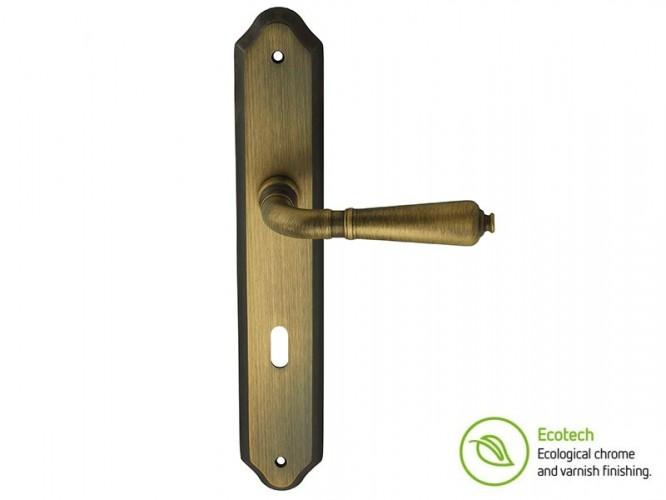 Forme vintage antik shield interior door handles - Standard interior door replacement key ...