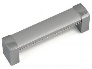 Алуминиева дръжка за мебели F380 - 128 мм