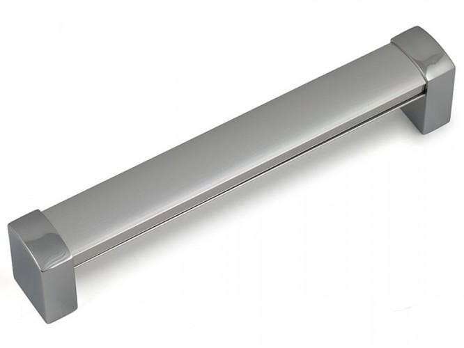 Алуминиева дръжка за мебели F380 - 192 мм