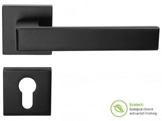 Forme Fashion Asti Interior Door Handles - For Cylinder, Matt Black