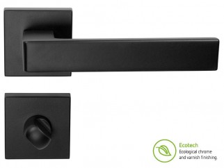 Forme Fashion Asti Interior Door Handles - For WC, Matt Black