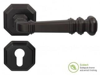 Дръжки за интериорни врати Forme Vintage Atlas - Секретен патрон, Черен мат