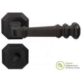 Дръжки за интериорни врати Forme Vintage Atlas - WC, Черен мат