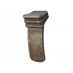 Ретро дръжка за мебели Libretto - С един винт, Старо олово