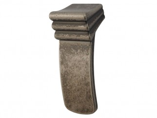 Libretto Retro Furniture Handle - With Screw, Old Lead