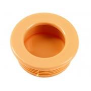 Пластмасова мебелна дръжка за вкопаване T35 - ф35 мм, Бежов