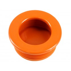 Пластмасова мебелна дръжка за вкопаване MD-T35 - Оранжев