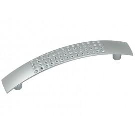 Мебелна дръжка 7007 - 96 мм, Хром мат