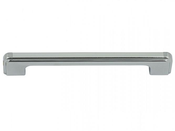 Мебелна дръжка 9162 - 160 мм, Хром