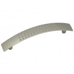Мебелна дръжка 7007 - Никел мат, 96 мм
