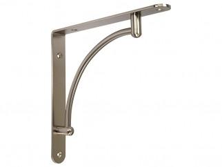 GTV Shelf Support Bracket - 220 x 220 mm, Inox