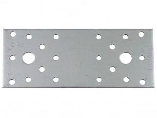 Плоска метална планка с перфорация LP - 100 x 35 мм